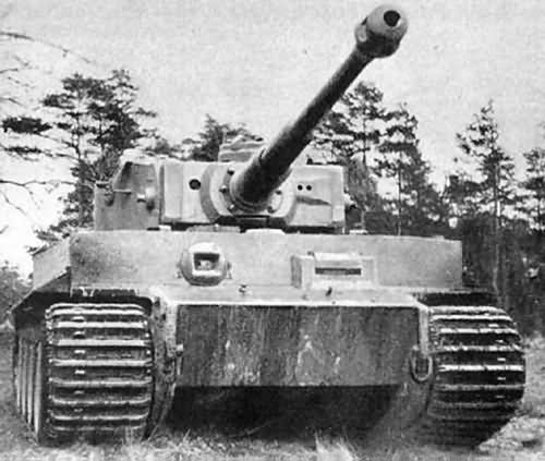 Early Tiger tank 7