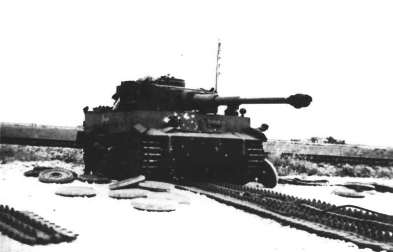 German Tiger tank 8