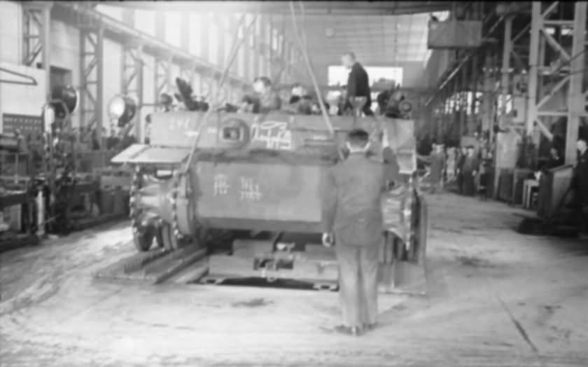 Tiger tank assembly line
