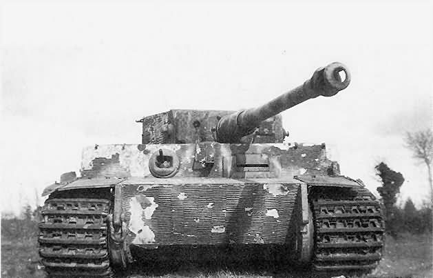 "Tiger I ""231"" of Schwere SS-Panzer-Abteilung 102 with zimmerit"