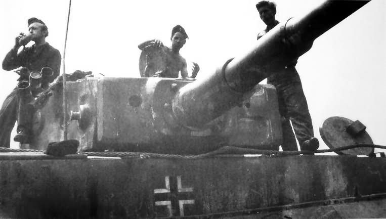 Tiger I tank turret 3