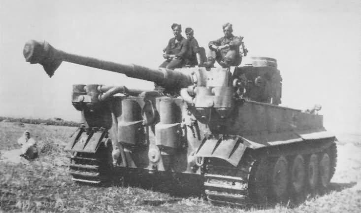 WW2 Tiger I tank