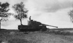 WW2 german tank Tiger I