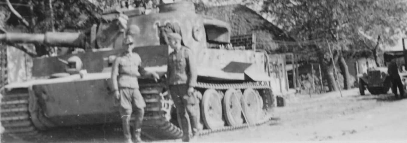 Tiger tank 112 of Schwere Panzer-Abteilung 503