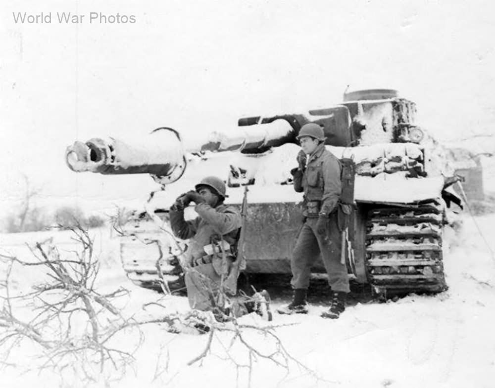 Image result for Tiger tank in the ardennes
