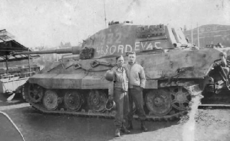 Tiger 2 Tank King Tiger Konigstiger Panzerkampfwagen Tiger Ausf B