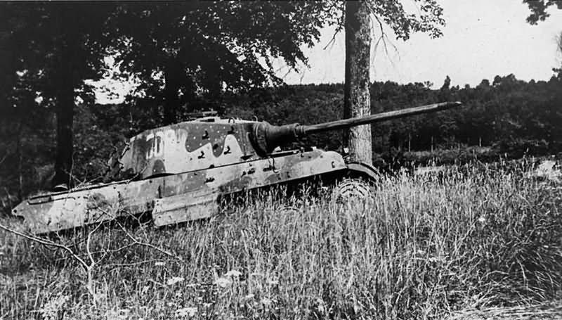 King Tiger tank of the Schwere SS Panzer-Abteilung 501  Tank