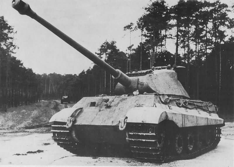 Tiger 2 Tank With Porsche Turret 19 World War Photos