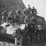 Captured Tiger II Tank La Gleize Belgium