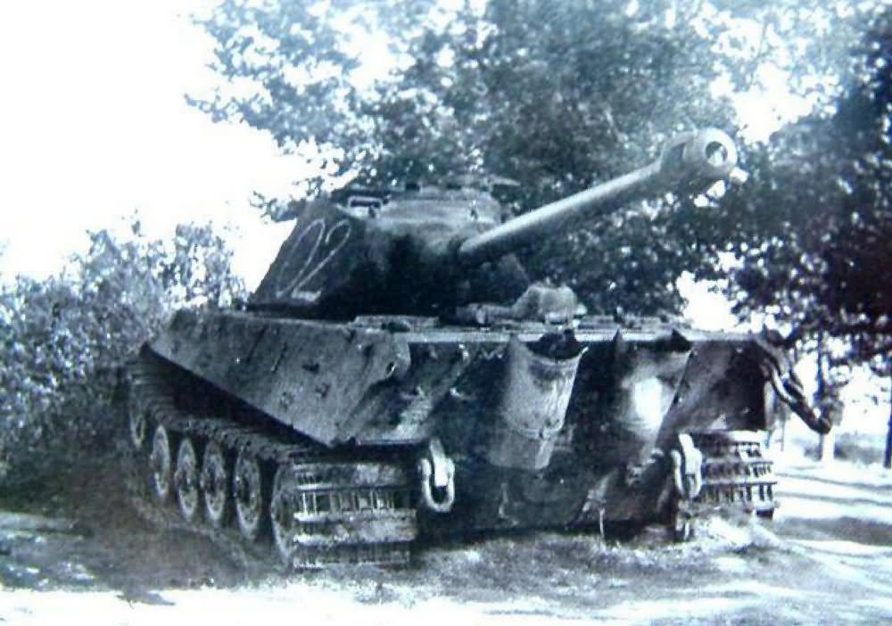 King Tiger Tank 02 With Porsche Turret Of Funklenk Schwere Panzerkompanie 316 World War Photos