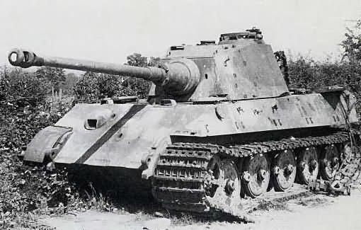 King Tiger tank, number 312, of the schwere SS Panzer Abteilung 501 | World  War Photos
