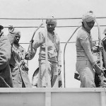 British indian and sikh colonial pow in afrika korps truck