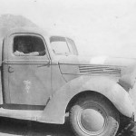 Captured british ford truck in afrika korps service