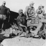 Wehrmacht pak anti tank gun in afrika korps