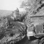 SdKfz 232 and Horch 901 cars from 1st SS Aufklarungs Abteilung LAH