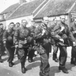 Soldiers of the 1 SS Panzer Division Leibstandarte SS Adolf Hitler 1943/1944