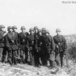 Soldiers from Waffen-SS Regiment Nordland