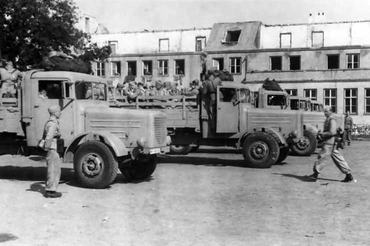 Bussing Nag Wehrmacht Truck World War Photos