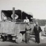 Einheitsdiesel with a field kitchen