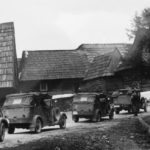 Horch 830R Wehrmacht cars in Poland