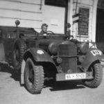 Horch 830 R Waffen SS car