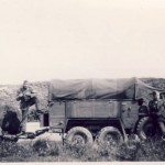 Krupp Protze with trailer