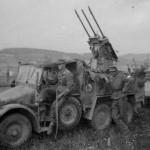 Krupp protze L 2 H 143 with a triple AA gun