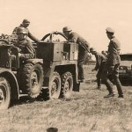 Wehrmacht Troops in Field with Krupp L2H143 kfz70