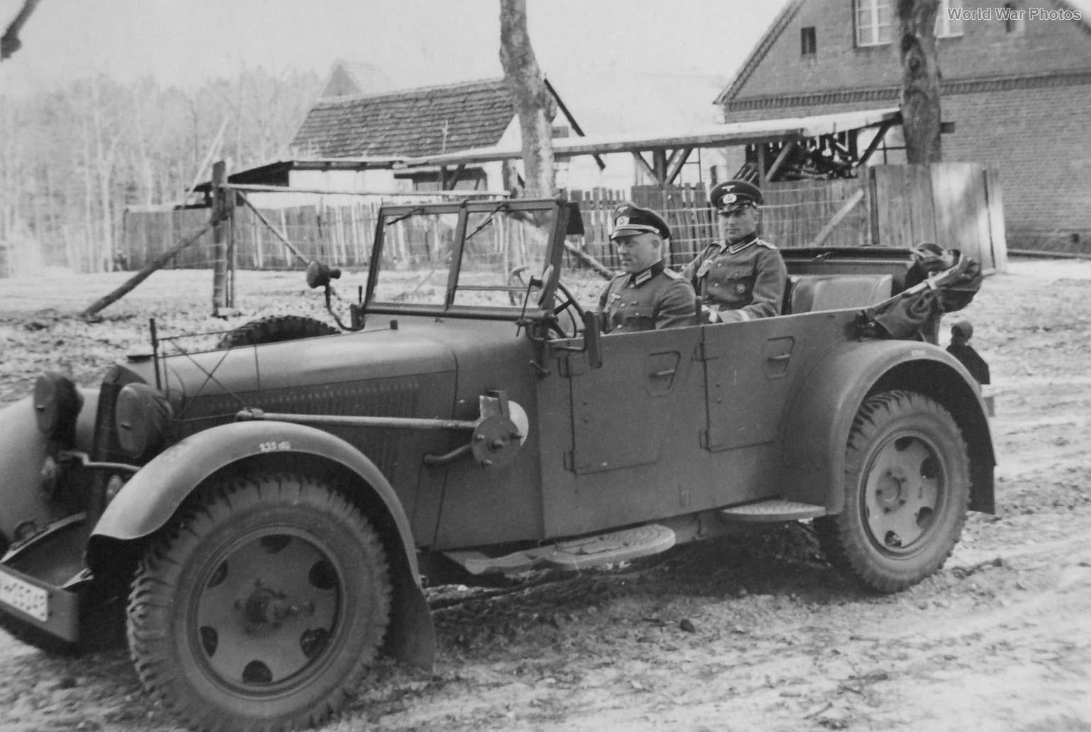 Kubelwagen 320 WK Bergen Norway 1940