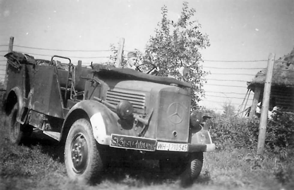 Mercedes Benz L1500a 1940 World War Photos