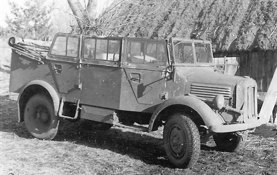 mercedes benz l 1500 a heavy pkw car russia | world war photos