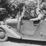 Kubelwagen Mercedes Benz 170 VK France 1940 near Granville