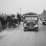 Mercedes Benz 170VK France 1940 near Rouen