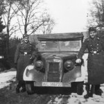 Mercedes Benz 170VK of Luftwaffe Calais 1941