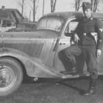 Mercedes Benz 170 V Limousine of Luftwaffe