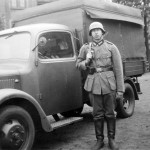 Mercedes Benz L 1500 LKW France Bordeaux 1943