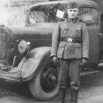 Mercedes Benz L 2500 LKW near Granville France 1942