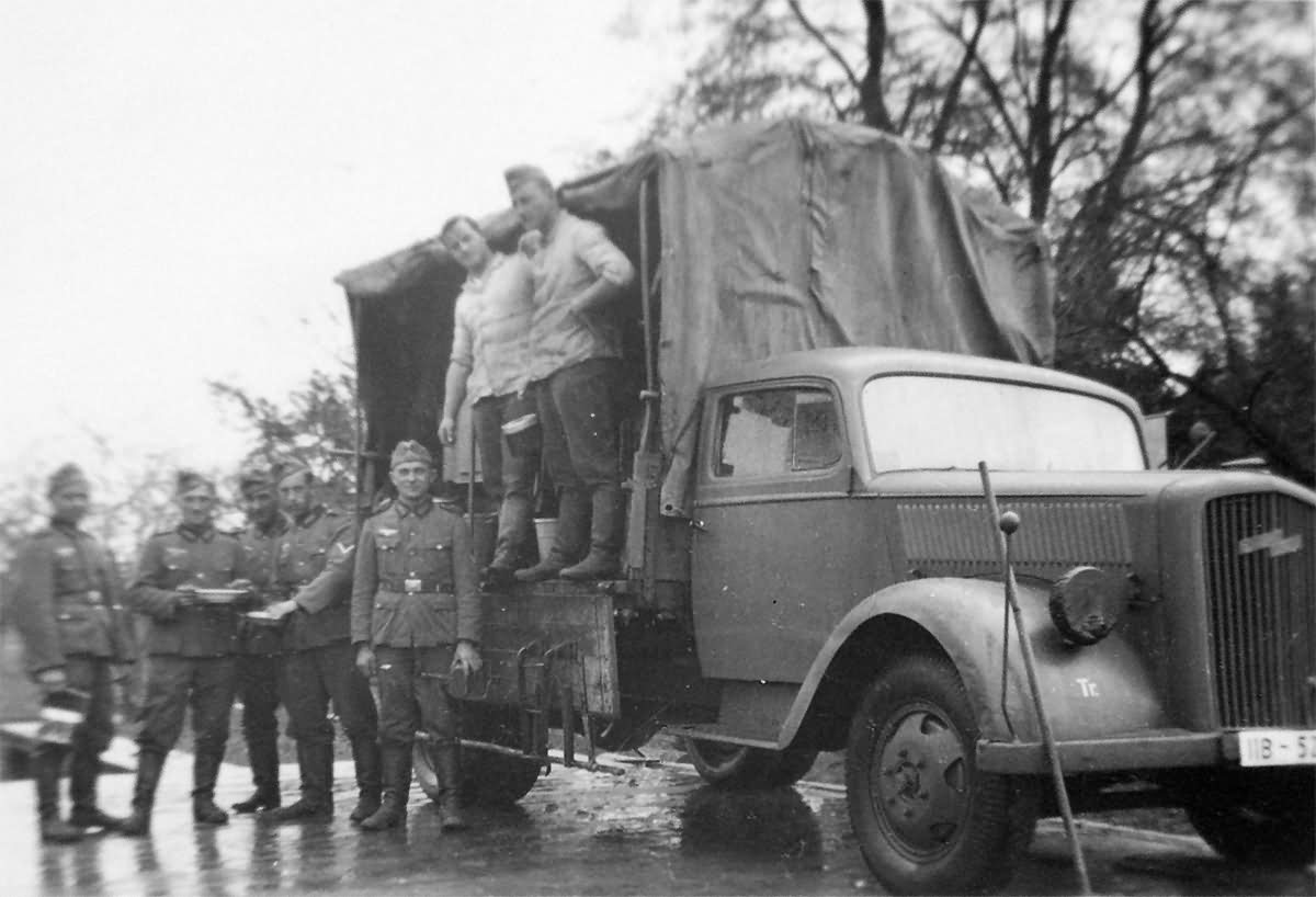 Opel Blitz 3to Lkw World War Photos