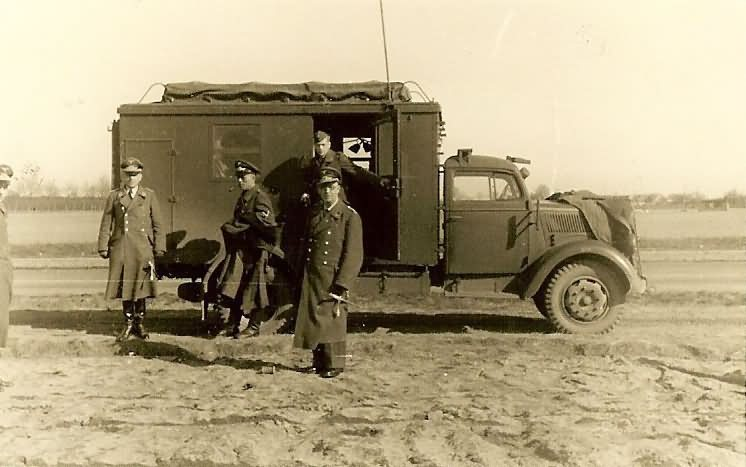 Opel Blitz Command Truck Luftwaffe