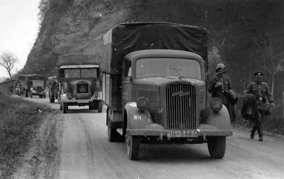 opel blitz wehrmacht truck | world war photos