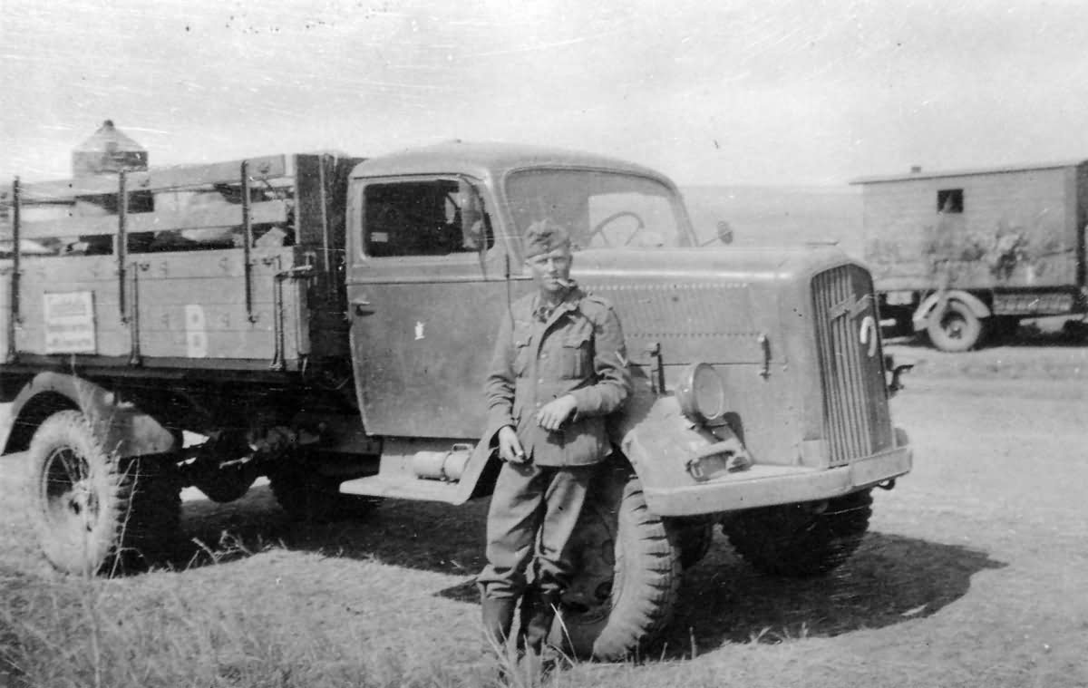 Opel Blitz Wehrmacht Truck 4 World War Photos