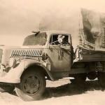 Afrika Korps Unit Marked Opel Blitz Truck LKW