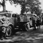 France 1940 near Rouen truck Opel Blitz 3to