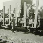 Opel Blitz 3 tonner on rail car