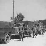Opel Blitz Lkw Trucks on Road