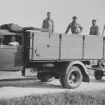 Opel Blitz Luftwaffe with startwagen Gutenfeld 1940