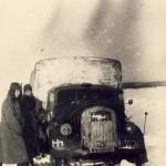 Opel Blitz in winter