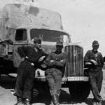Waffen SS Opel Blitz truck