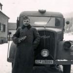Wehrmacht truck LKW in winter
