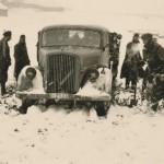 Wehrmacht truck in winter